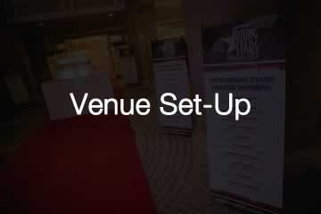 Rising stars 2019 Venue Set-Up